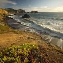 Beach, Coastline, Marin Headlands, California, USA
