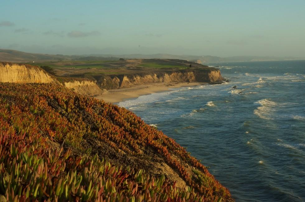 Beach, Half Moon Bay, California, USA