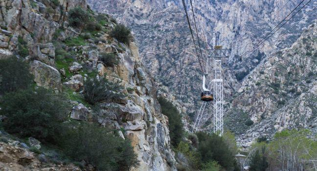 Aerial Tram, San Jacinto Mountains, Palm Springs, California