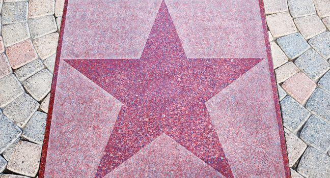 Walk of Stars, Palm Springs, California
