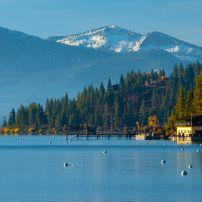 Forest, Lake, Carnelian Bay, Lake Tahoe, California