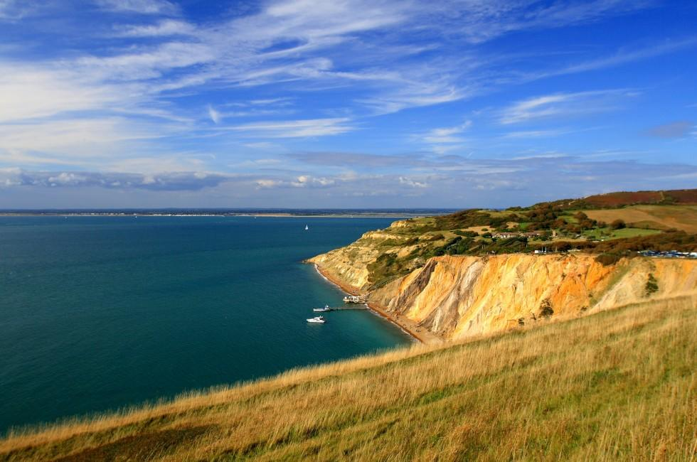 Alum Bay, The South, England