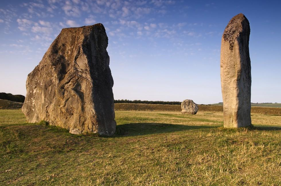 Avebury Stones, Wiltshire, The South, England