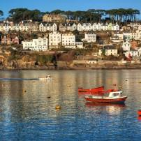 Boats, River Fowey, Cornwall Coast, The West Country, England