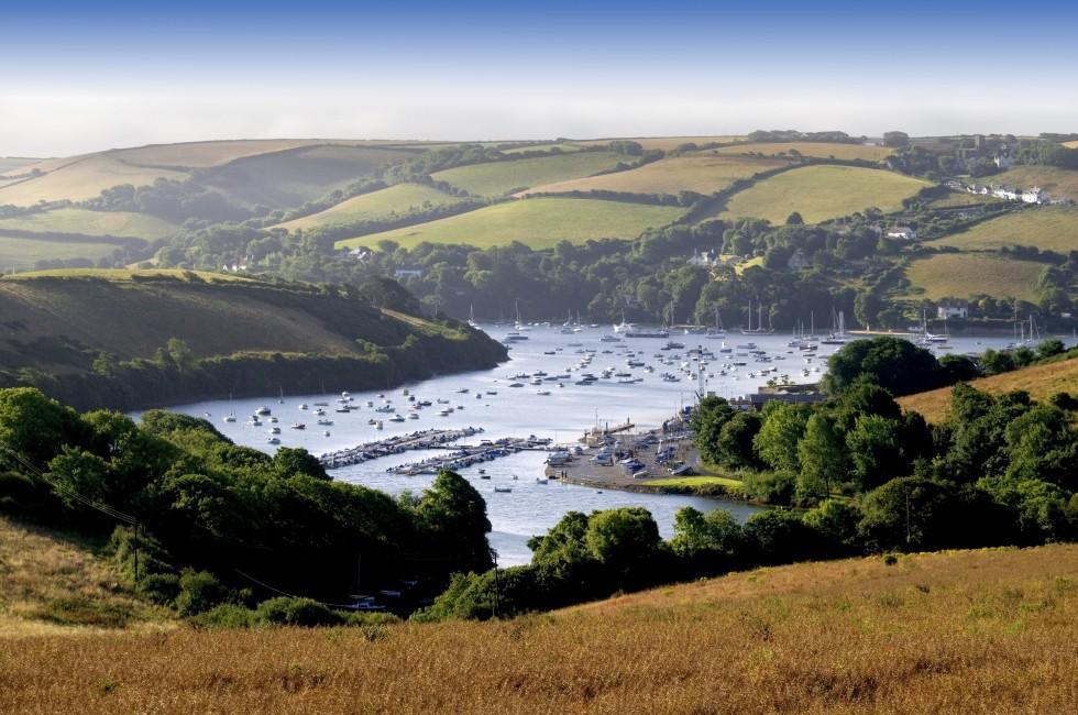 Kingsbridge Estuary, Salcombe, Devon, The West Country, England