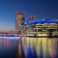 BBC and ITV Stuido Complex, Media City, Salford Quays, Manchester, United Kingdom