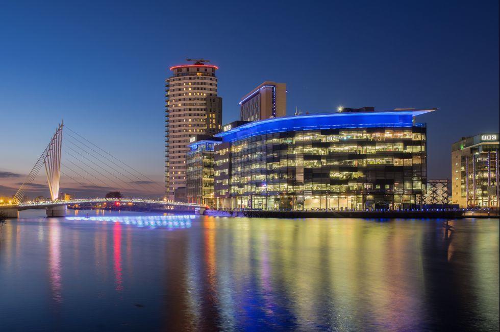 BBC and ITV Stuido Complex, Media City, Salford Quays, Manchester, United Kingdom