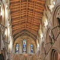 Ceiling, Hexham Abbey, The Northeast, England