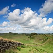 Hadrian's Wall, Northumberland, The Northeast, England