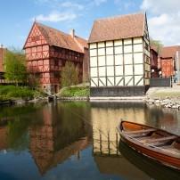 The Old Town Museum, Boat, Aarhus, Jutland, Denmark