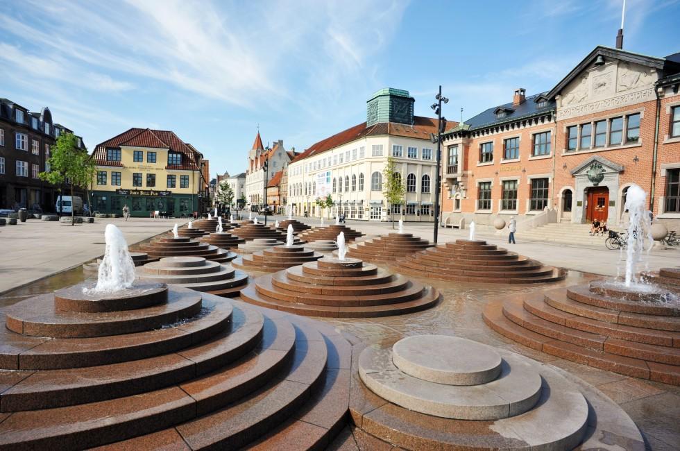 Fountain, Aalborg, Denmark