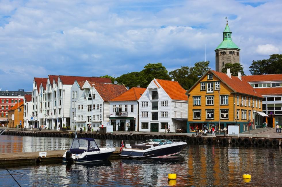 Boat, Waterfront, Stavanger, Southern Norway, Norway