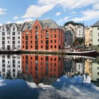 Waterfront, Alesund, The West Coast, Norway