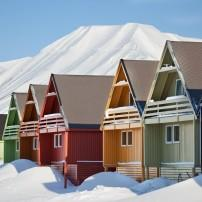 Houses, Longyearbyen, Norway, Trondheim to the North Cape, Norway