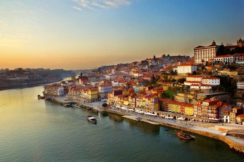 Old Town, Douro River, Porto, Portugal