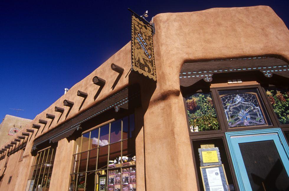 Cafe Pasqual's, Santa Fe, New Mexico, USA