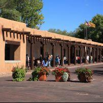 Palace of the Governors, The Plaza, Santa Fe, New Mexico, USA