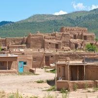 Adobe House, Taos Pueblo, New Mexico