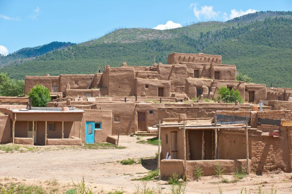 Adobe House, Taos Pueblo, New Mexico