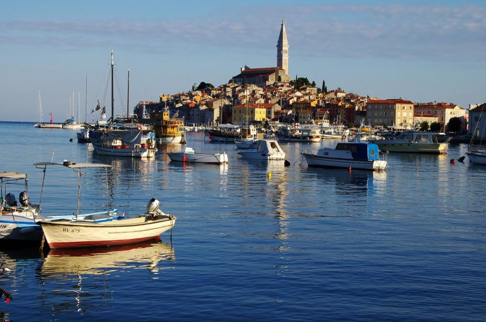 Old city, Rovinj, Istria, Croatia