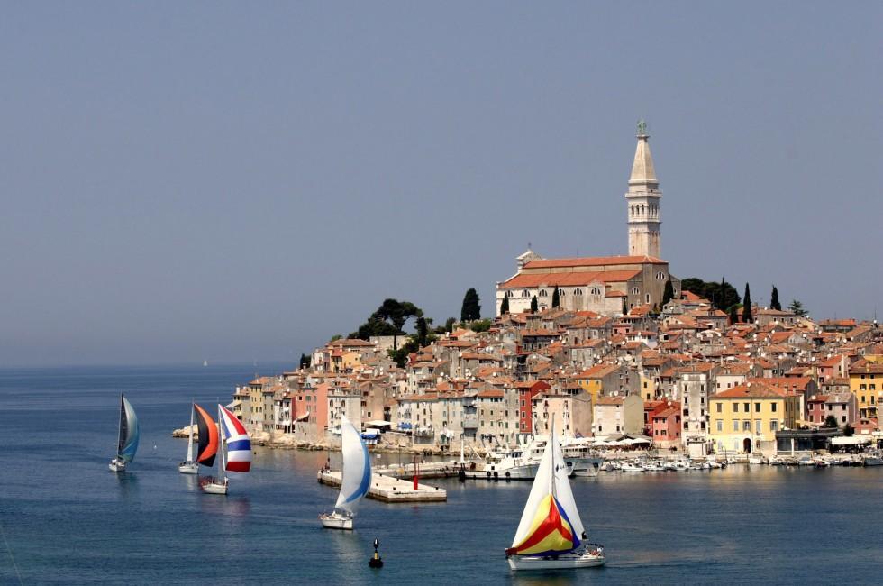 Sailboats, Rovinj, Istria, Croatia