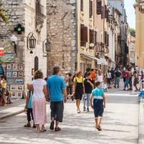 Crowd, Street, Shopping, Zadar, Zadar and Northern Dalmatia, Croatia