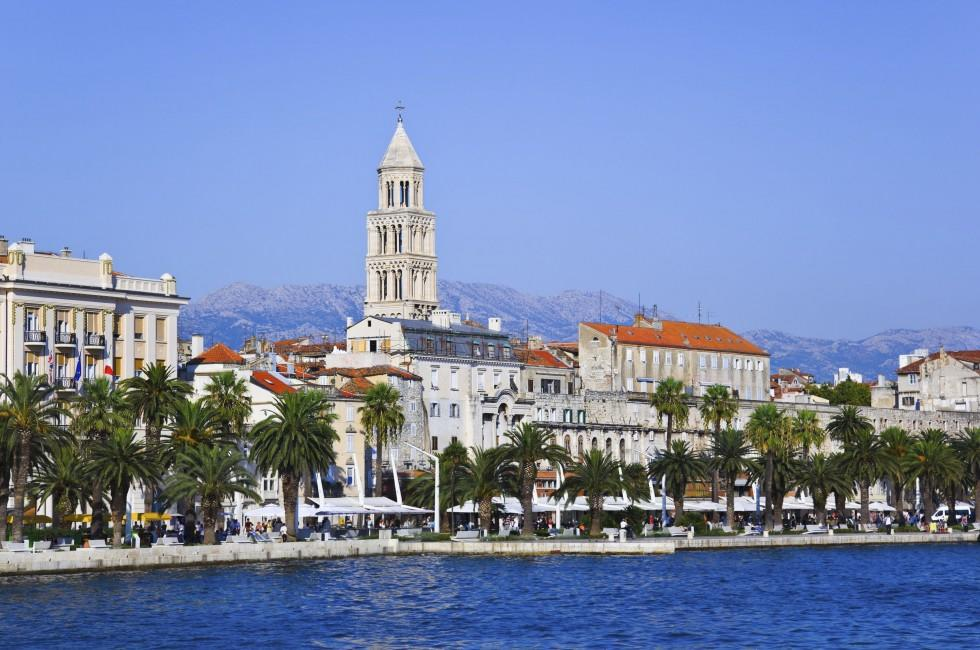 Waterfront, Diocletian Palace, Split, Croatia