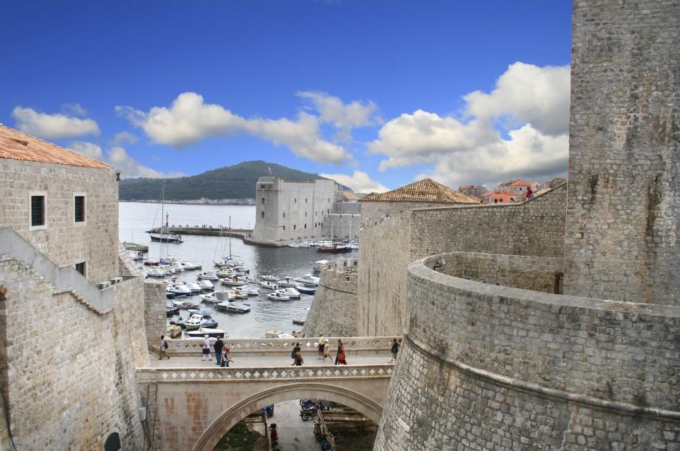 Harbor, Dubrovnik, Croatia