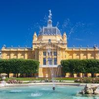 Art Pavilion, King Tomislav Square, Zagreb, Croatia