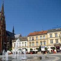 Main Square, Osijek, Slavonia, Croatia