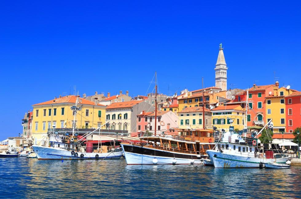 Boats, Harbor, Rovinj, Croatia