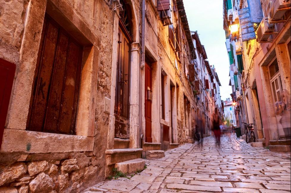 Street, Rovinj, Croatia