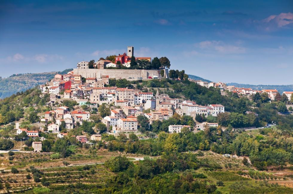 Motovun, Istria Peninsula, Croatia
