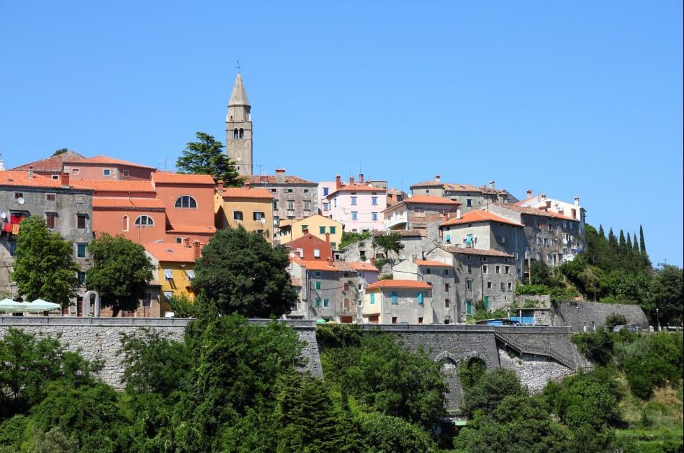 Cityscape, Labin, Croatia