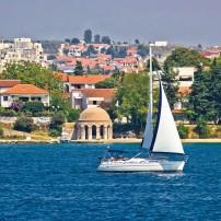 Sailboat, Zadar, Dalmatia, Croatia