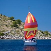 Sailboat, Kornati Islands, Croatia