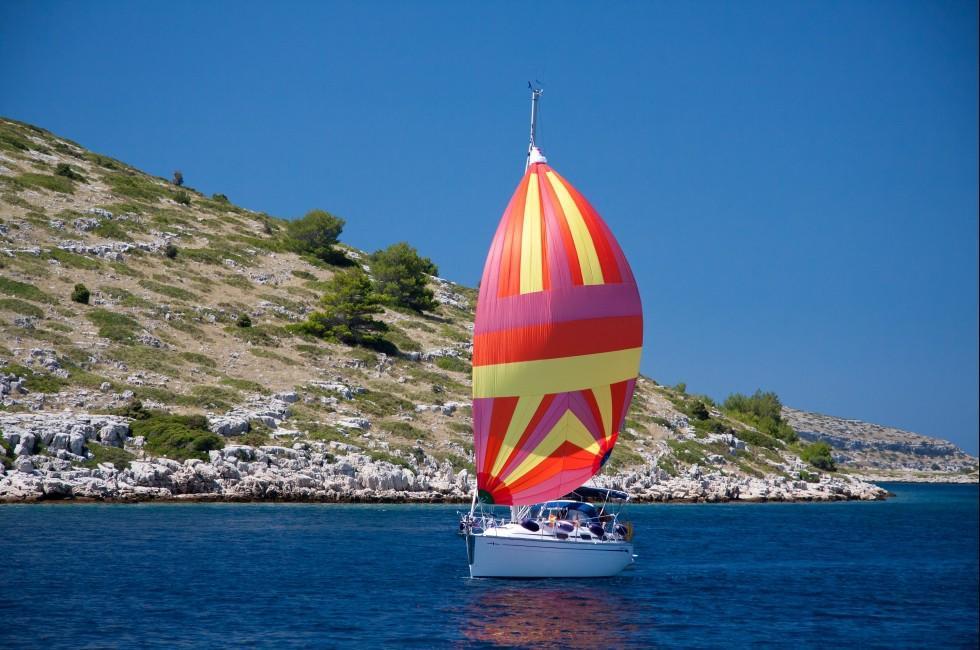 Sailboat, Kornati Islands, Croatia