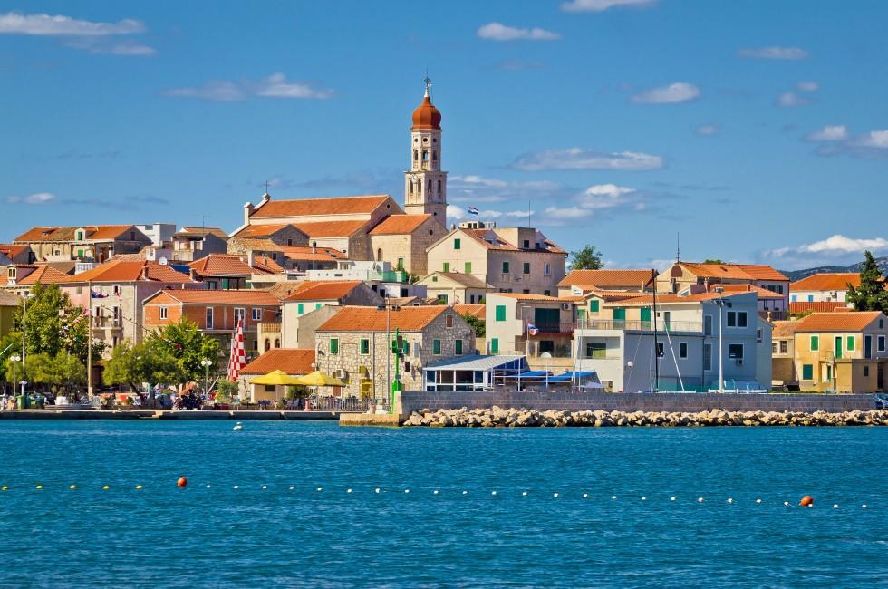 Skyline, Betina, Murter Island, Croatia