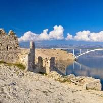 Desert Ruins, Bridge, Pag, Croatia