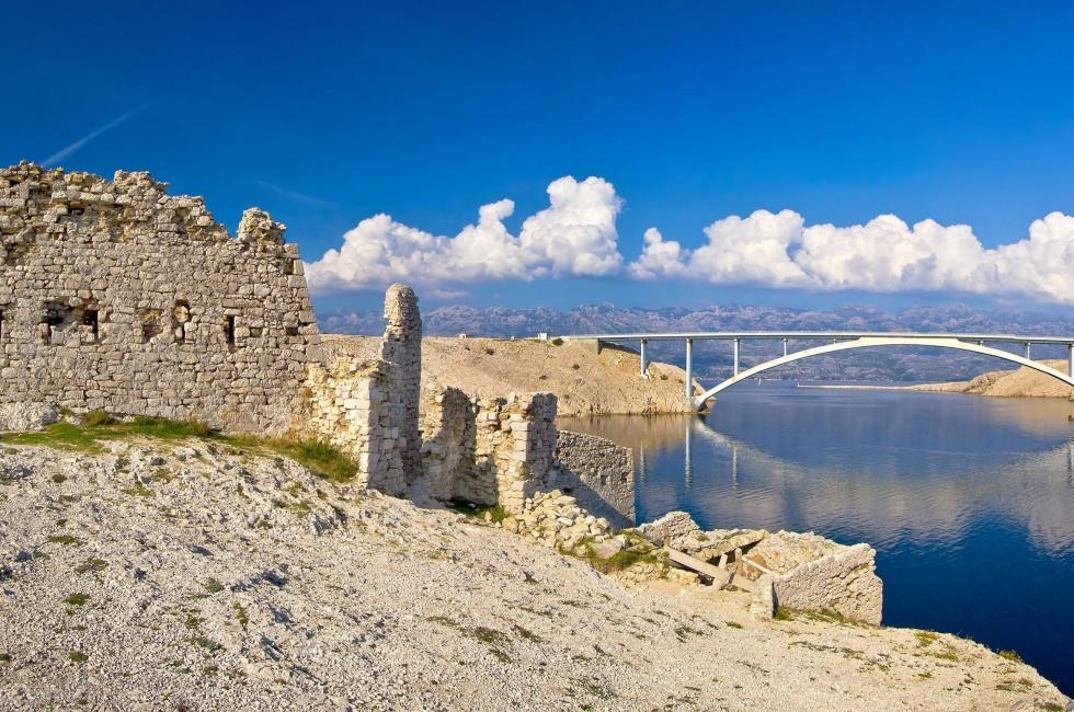 Desert Ruins, Bridge, Pag, Croatia