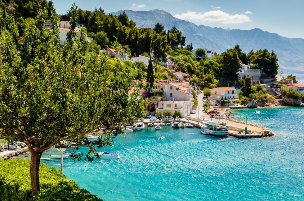 Adriatic Bay, Village, Split, Croatia