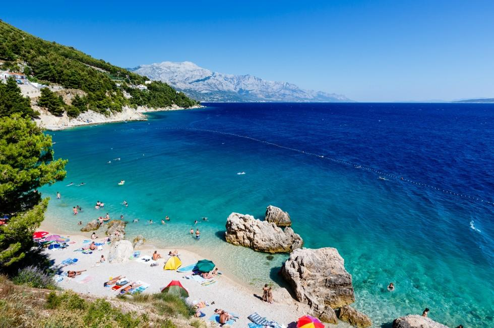 Beach, Adriatic Sea, Split Croatia