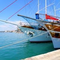 Boats, Split Harbor, Croatia