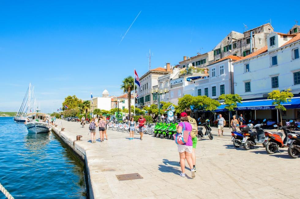 Harbor, Sibenik, Croatia