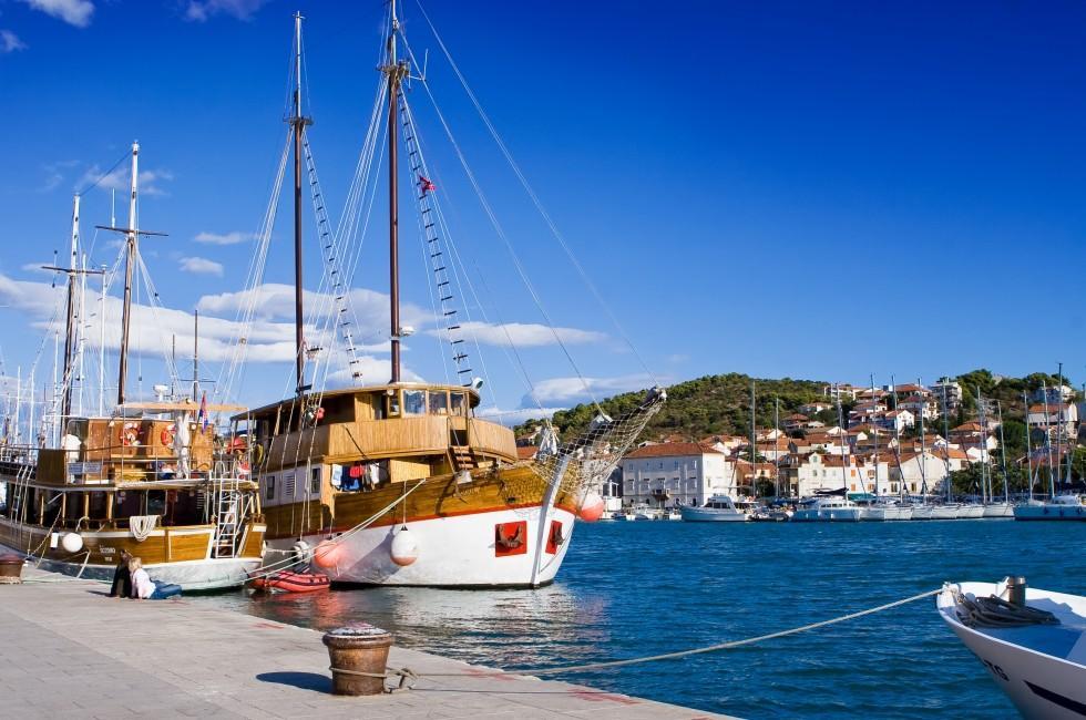 Boats, Marina, Trogir, Croatia