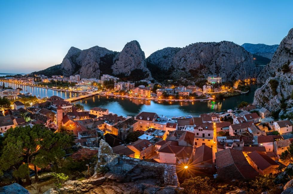 Omis and Cetina River Gorge, Dalmatia, Croatia
