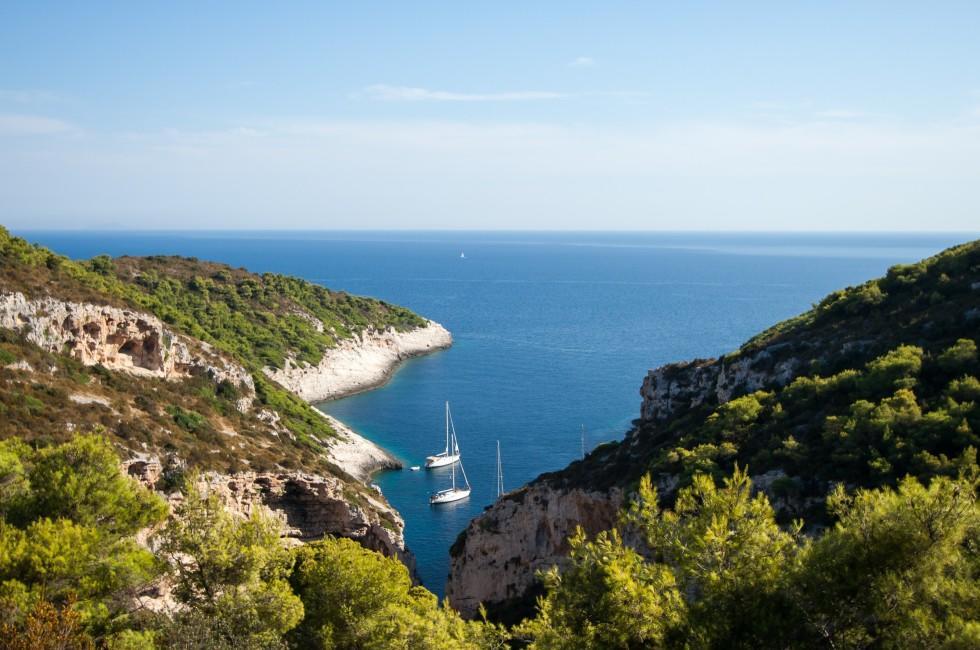 Stiniva Bay, Vis Island, Croatia