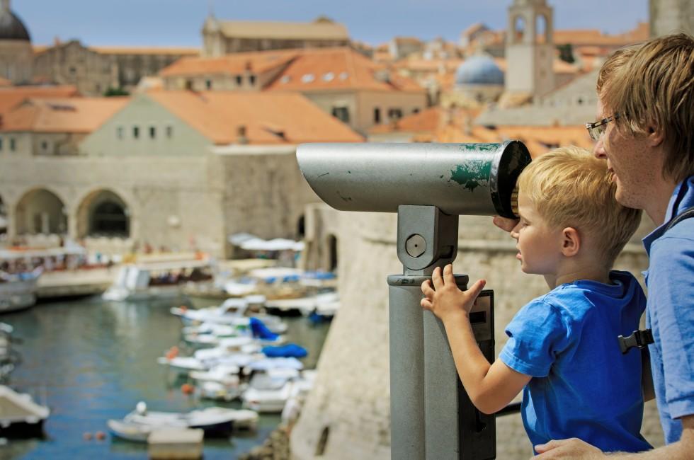 Binoculars, Dubrovnik, Croatia