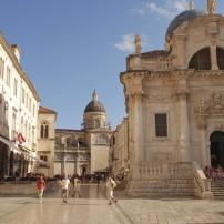 Luza Square, Dubrovnik, Croatia