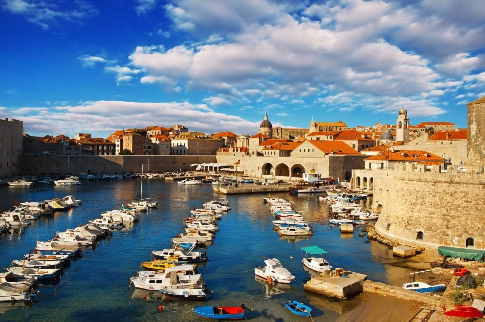 Pier, Dubrovnik, Croatia
